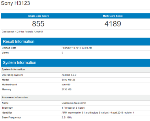 Sony готовит три смартфона с Snapdragon 660 – фото 2