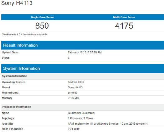 Sony готовит три смартфона с Snapdragon 660 – фото 3