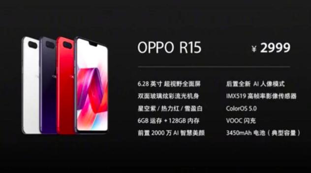 Анонс Oppo R15 и R15 Dream Mirror: характеристики и цена – фото 2