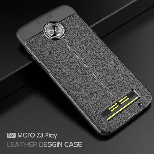 Чехол демонстрирует дизайн Moto Z3 Play – фото 5