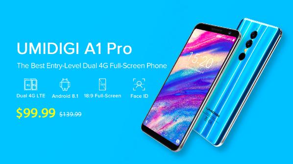 UMIDIGI A1 Pro: характеристики, цена и скидка на старте продаж – фото 1