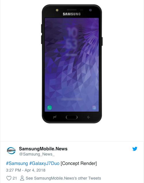 Рендер Samsung Galaxy J7 Duo – фото 2