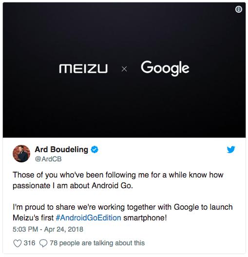 Meizu готовит первый смартфон с Android Oreo Go Edition – фото 3