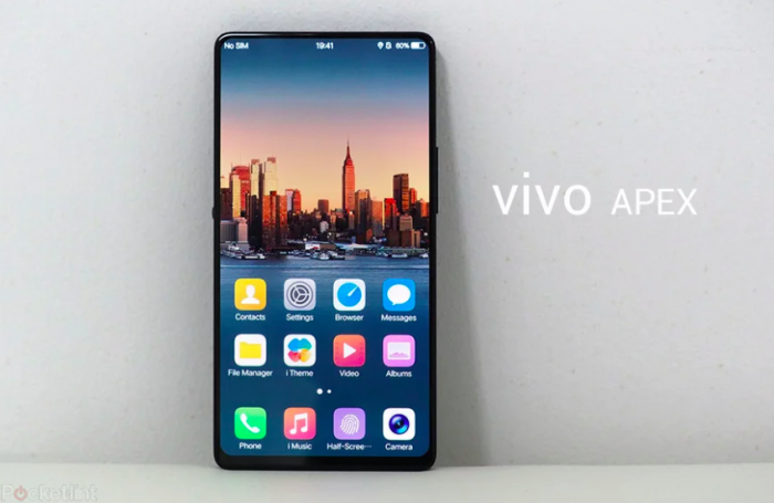 Неизвестный тонкорамочный смартфон Vivo на фото – фото 1