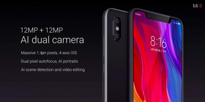 Флагманский Xiaomi Mi 8 представлен официально – фото 7