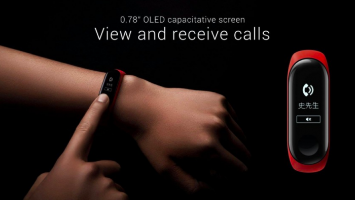 Представлен Xiaomi Mi Band 3 с OLED-экраном и NFC от $26 – фото 1