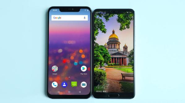 Дизайн UMIDIGI Z2 и сравнение с Huawei P20 – фото 1