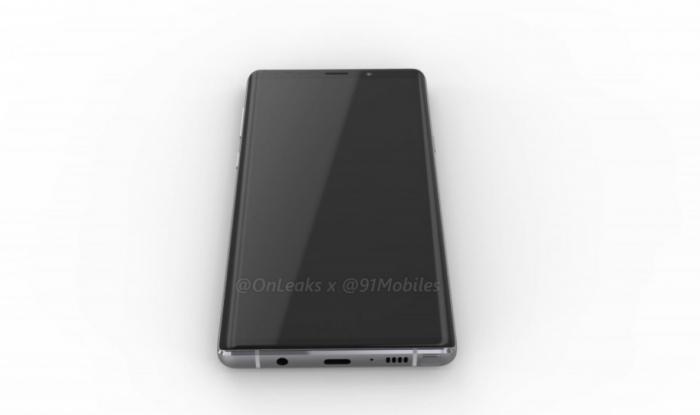 Samsung Galaxy Note 9 показали со всех сторон на 3D-рендере – фото 2