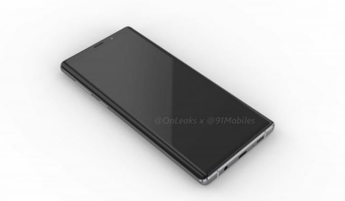 Samsung Galaxy Note 9 показали со всех сторон на 3D-рендере – фото 3
