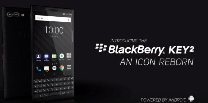 Представлен BlackBerry KEY2 с двойной камерой, Snapdragon 660 и ценником в $650 – фото 1