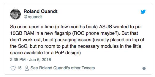 ASUS хотела выпустить смартфон с 10 Гб оперативки – фото 2