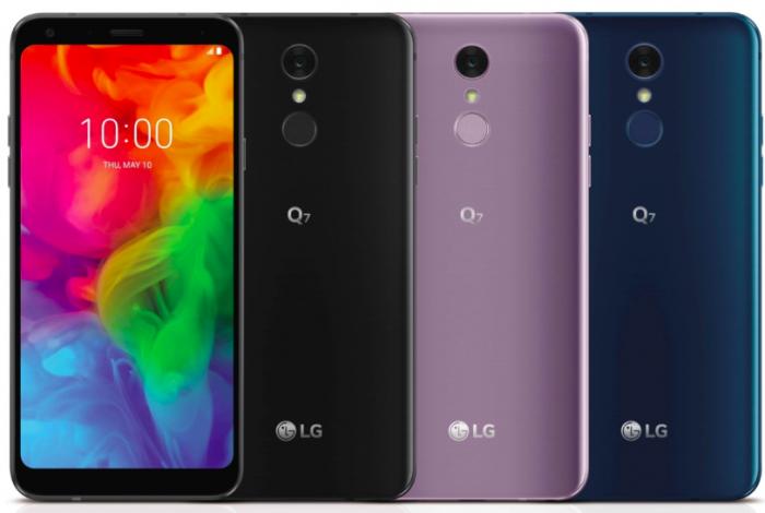 Стали известны цены на LG Q7 и LG Q7+ – фото 1