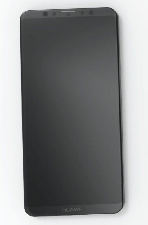 Huawei Mate 20 на фото без «челки» – фото 1