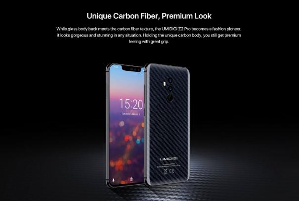 UMIDIGI Z2 Pro получит версию с карбоновой задней панелью и компания ищет тестеров смартфона – фото 3