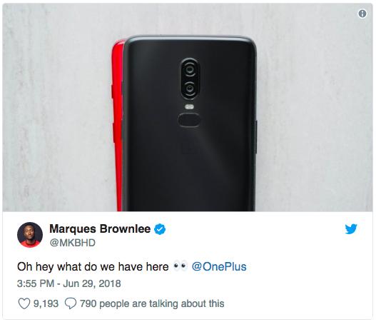 OnePlus 6 оденется в красный – фото 2