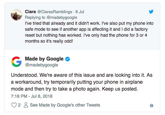Владельцы Google Pixel 2 и Pixel 2 XL вновь столкнулись с проблемой – фото 2