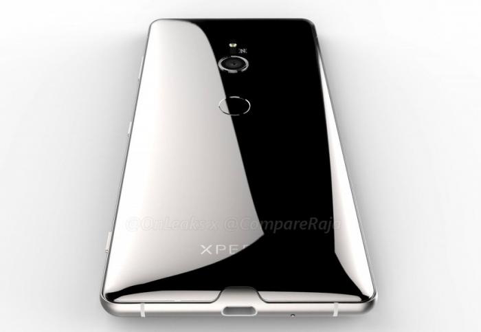 3D-рендер раскрывает детали о дизайне Sony Xperia XZ3 – фото 4