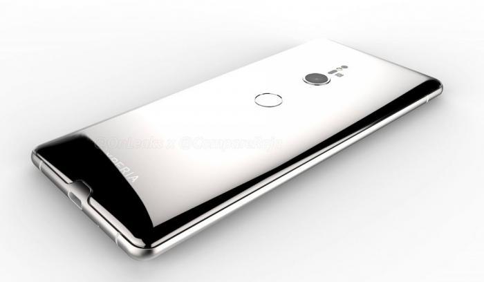3D-рендер раскрывает детали о дизайне Sony Xperia XZ3 – фото 5