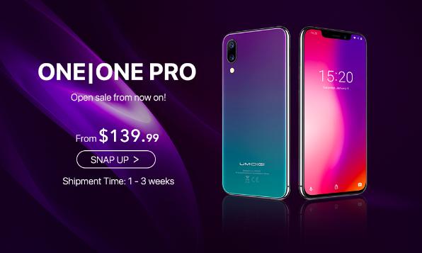 UMIDIGI One и One Pro: распаковка и старт предзаказов – фото 1