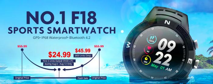 Смартфон Cubot P20 и смарт-часы No.1 F18 со скидкой в Gearbest – фото 3