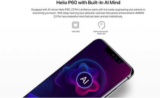 UMIDIGI Z2 Pro уже в продаже и вот что он предлагает – фото 1