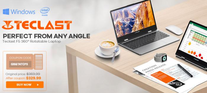 Сэкономьте на покупке Teclast F5 и UMIDIGI Z2 Pro с магазином Gearbest – фото 2