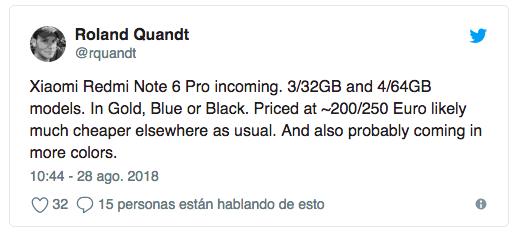 Xiaomi Redmi Note 6 Pro может дебютировать достаточно скоро – фото 2