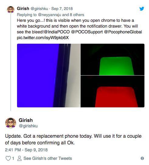 У Pocophone F1 обнаружены проблемы с дисплеем – фото 3