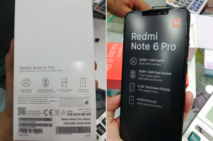 Xiaomi Redmi Note 6 Pro показали на видео – фото 2