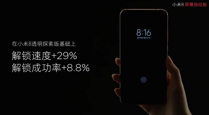 Дебютировал Xiaomi Mi 8 Screen Fingerprint Edition с экранным биометрическим сканером – фото 2
