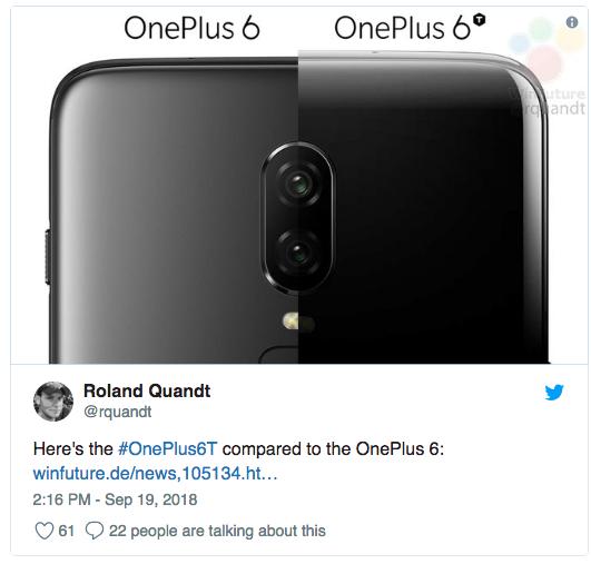 OnePlus 6T показали в рекламном ролике – фото 2