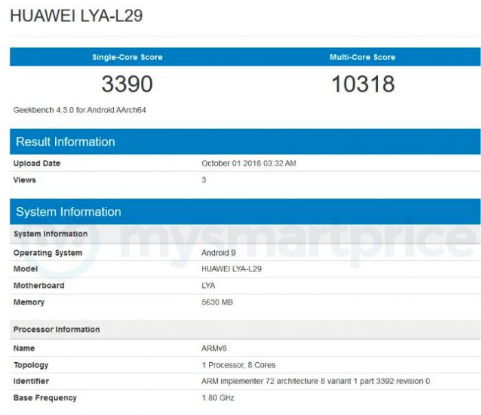 Результаты Huawei Mate 20 Pro в бенчмарке Geekbench достойные, но не рекордные – фото 2