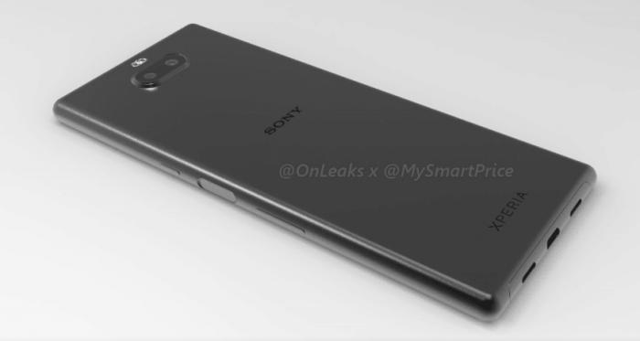 Показали 3D-модель Sony Xperia XA3 Ultra – фото 2