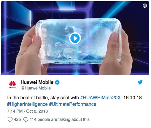 Для геймеров готовят Huawei Mate 20X и его анонс на следующей неделе – фото 2