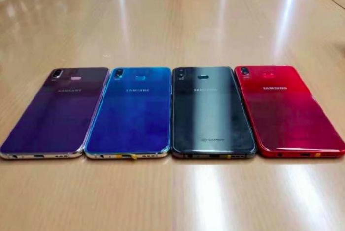 Samsung Galaxy A6s показался в четырех цветах – фото 2