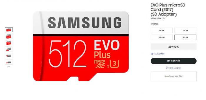Новая карта microSD от Samsung имеет вместимость 512 Гб – фото 2