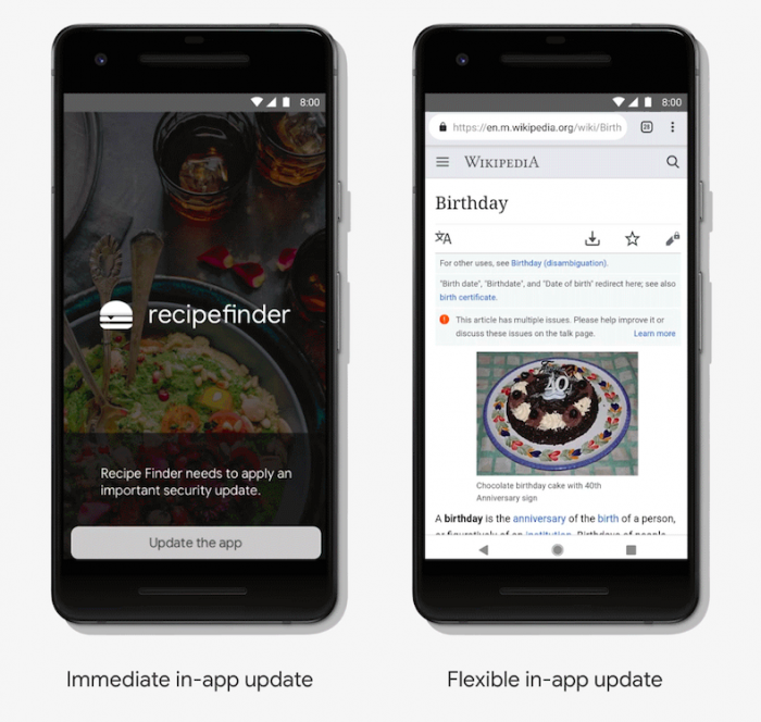 Android позволит обновлять некоторые приложения, не прекращая их работу – фото 2