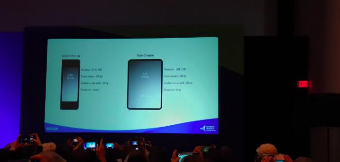 Подробности о характеристиках дисплеев складного мобильника Samsung и интерфейсе One UI – фото 2
