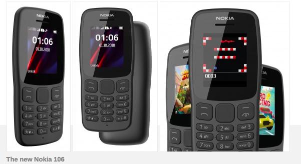 Анонс Nokia 106: кнопочный марафонец – фото 2