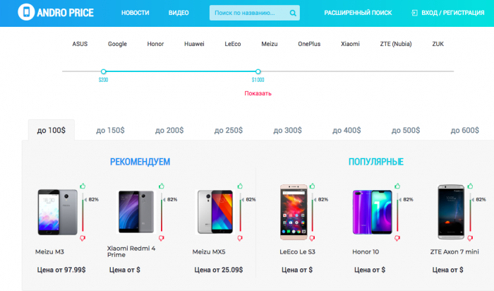 Telegram-канал Andro-price поможет сэкономить – фото 1