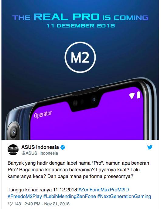 ASUS ZenFone Max Pro (M2) показали на официальном пресс-изображении – фото 2