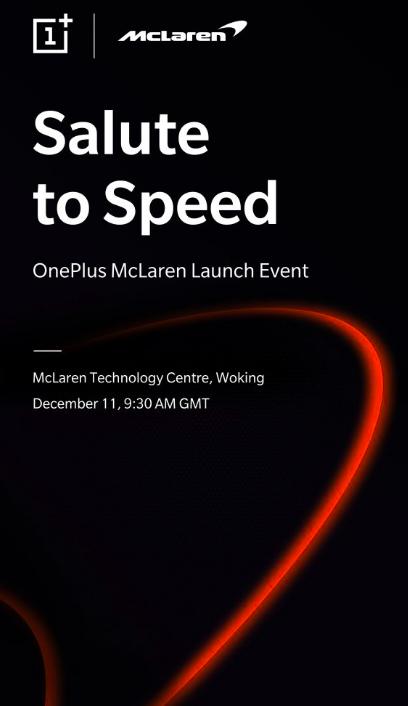 Имиджевый и люксовый OnePlus 6T McLaren Edition представят 11 декабря – фото 2
