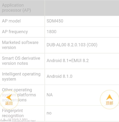 Huawei Enjoy 9: изображение, характеристики и цена – фото 6