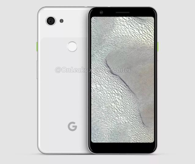 3D-рендер раскрыл облик Google Pixel 3 Lite XL – фото 2