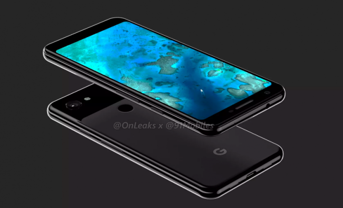 3D-рендер раскрыл облик Google Pixel 3 Lite XL – фото 3
