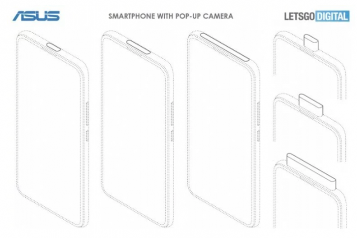 У ASUS могут появиться смартфоны с «дырявым» дисплеем и выдвижной камерой – фото 1