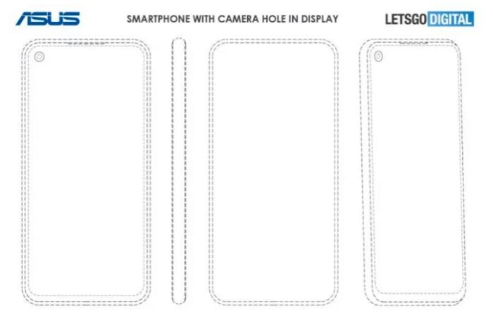 У ASUS могут появиться смартфоны с «дырявым» дисплеем и выдвижной камерой – фото 2