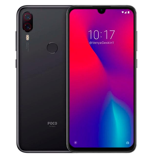 Концепт Xiaomi Pocophone F2 – фото 1