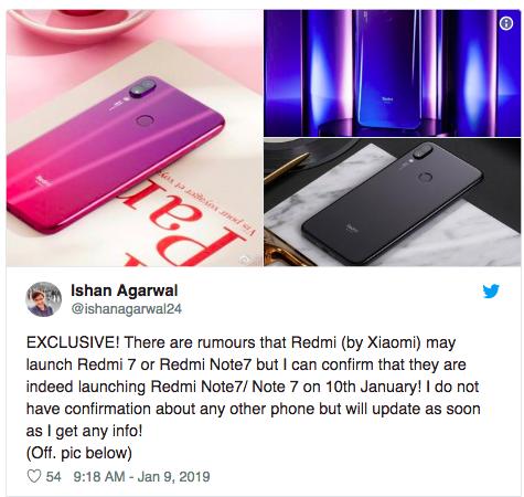 И все же завтра обещают дебют Xiaomi Redmi Note 7 – фото 1