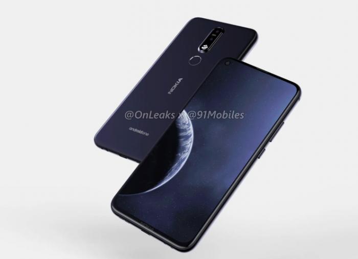 Nokia 8.1 Plus на рендерах в хорошем качестве – фото 1